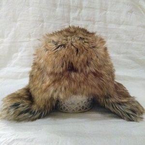 Baby Gap faux fur winter hat